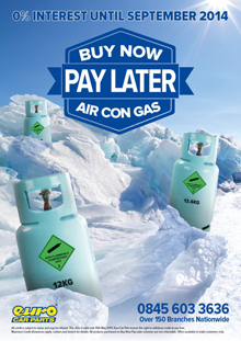 Euro Car Parts Launch Aircon Gas Promotion